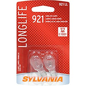SYLVANIA 921 Long Life Miniature Bulb, (Contains 2 Bulbs)