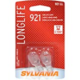 2008 dodge avenger 3 brake light - SYLVANIA 921 Long Life Miniature Bulb, (Contains 2 Bulbs)