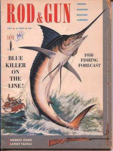 Info Rod (Rod & Gun #1 4/1958-Skye-1st issue-LB Cole cover-pix-info-outdoorsy-VG)
