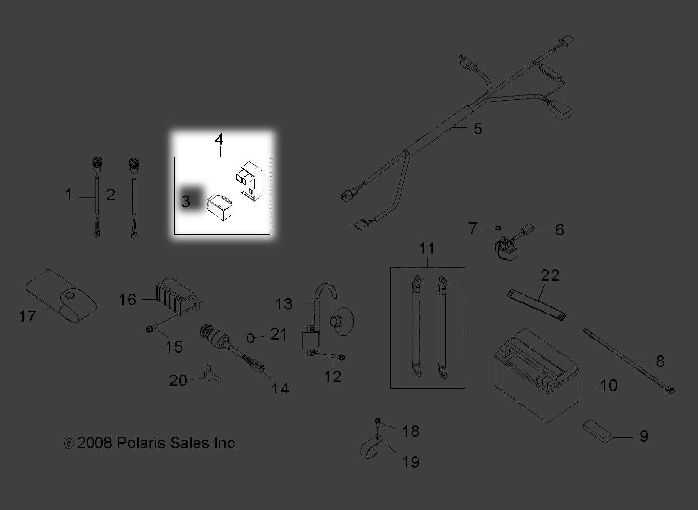 Polaris 2009-2014 Rzr 170 Cdi Unit 0454334 New Oem