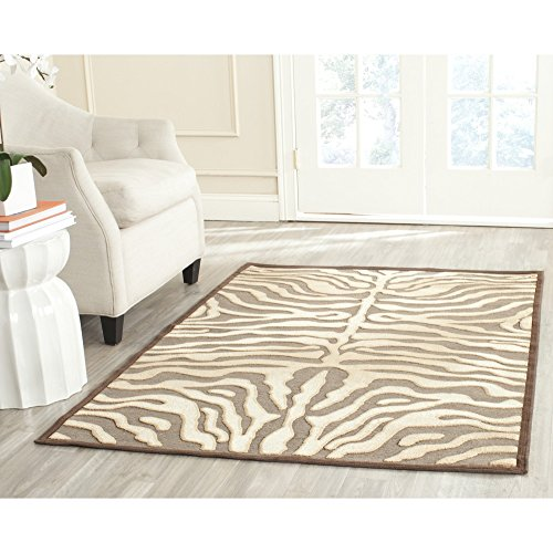 Safavieh Paradise Collection PAR83-331 Mocha Viscose Area Rug (8′ x 11'2″) Review