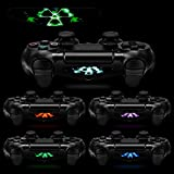 eXtremeRate® 60 Pcs/Set Game Theme Led Lightbar Cover Light Bar Decals Stickers for Playstation 4 PS4 PS4 Slim PS4 Pro Controller Skins