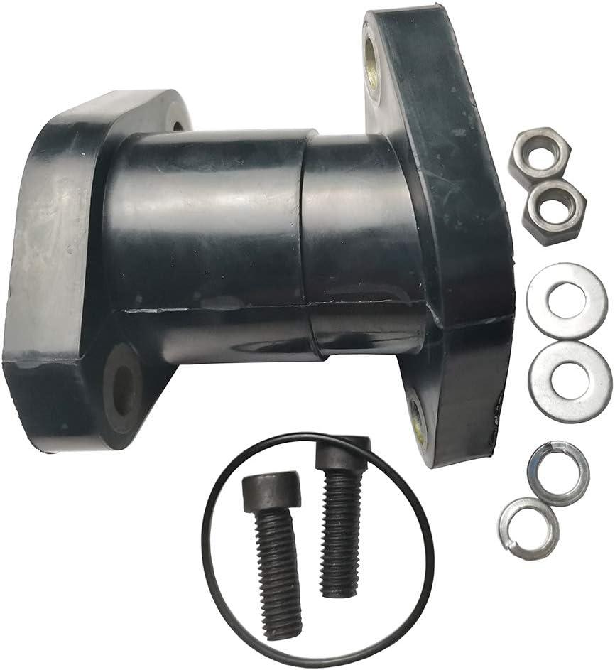 JINFANNIBI Carburetor Intake Manifold Boot for Yamaha Big Bear 350 YFM350FW 4x4 Kodiak 400 YFM400FW 4x4 Moto 4 YFM350ER