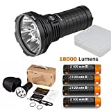 AceBeam X45 Flashlight 18000 Lumens LED Flashlights High Lumens LED Updated Version included Batteries