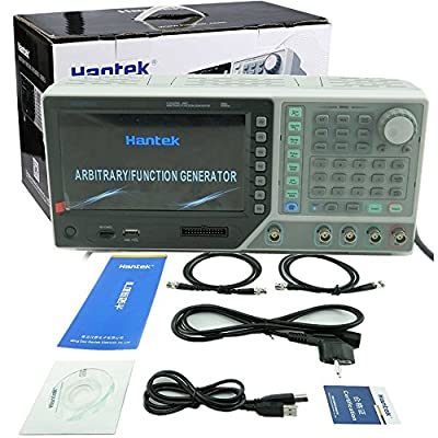 Hantek HDG2082B 16 Channels output 80MHz 250MSa/s 64M Memory Depth Function/Arbitrary Waveform Generator 80MHz Arbitrary Waveform Function Generator DDS Function Generator Arbitrary 16Bit Resolution