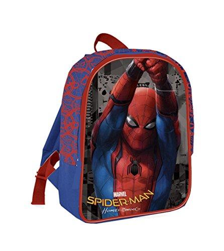 Coriex Web Time Spider-Man Kleine Rucksack Kinderrucksack, Mehrfarbig, M
