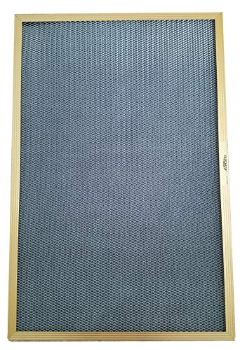 14x30x1 Electrostatic Washable Permanent A/C Furnace Air Filter - Reusable - GOLD - Aircare Electrostatic Filter