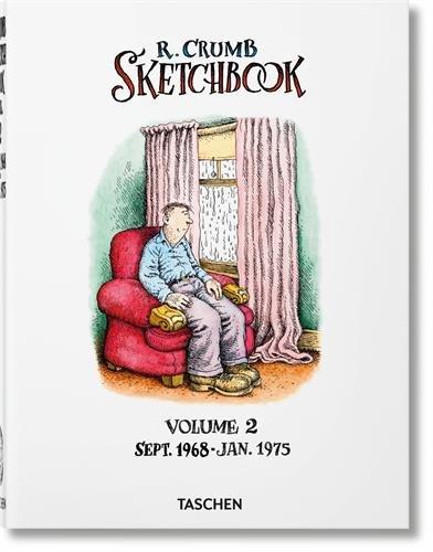 Robert Crumb. Sketchbook: Sketchbook. Sept. 1968 - Jan. 1975 - Volume 2 (Varia)