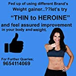 Muscle Creator nutrition's (thin to heroine) weight gainer for girls/women banana 1 kg [2.2lbs] 1000gms+250gms[Extra…