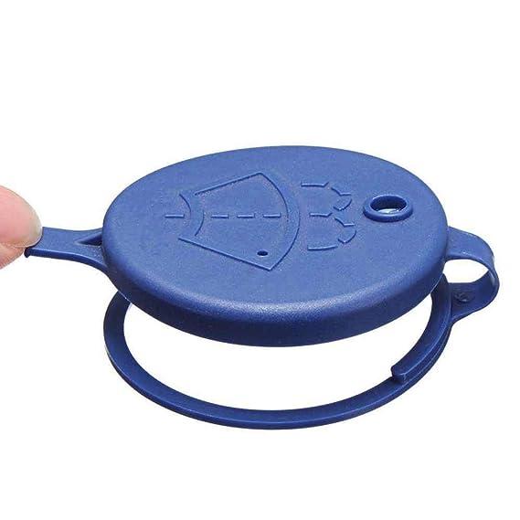 RUNGAO 1 Pieza de limpiaparabrisas limpiaparabrisas depósito de líquido Tank Botella Captle para Peugeot Citroen: Amazon.es: Coche y moto