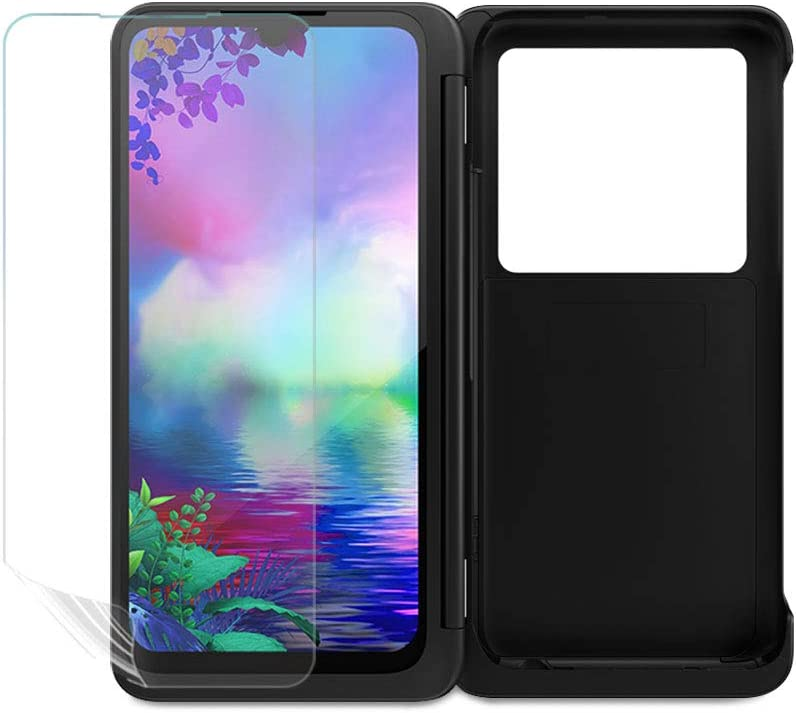 Matte O-One TAINMORE Pro Front Soft Screen Protector for LG G8X Dual Screen Inside and Outside Film 2Pcs