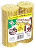 C and S Products Sweet Corn Squirrelog, 2 Unit Pack, 6-Piece