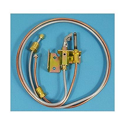 Calentador de agua Piloto assembely incluye piloto termopar y tubos LP propano por fixitshop
