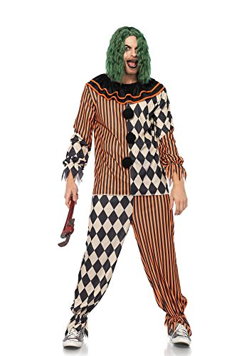 Creepy Circus Clown Adult Costume - X-Large