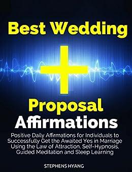 Amazon.com: Best Wedding Proposal Affirmations: Positive