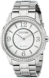 Citizen Women's FE7000-58A Drive from Citizen Eco-Drive TTG Analog Display Silver Watch