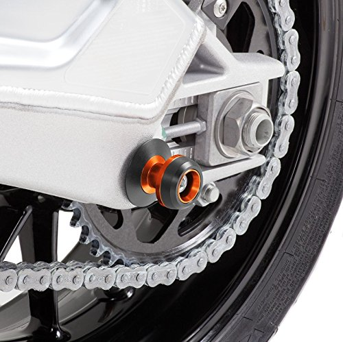 Racingadapter f/ür KTM 950 Super Enduro//R Motea Le Mans M10 x 1.5 orange