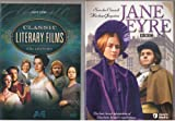 Jane Eyre BBC : Complete Uncut Edition : 248 Minutes , Jane Eyre A&E Networks Literary Films Edition 108 Minutes : 2 Pack Collection - Combined Run Time 3 DVD Set - 356 Minutes