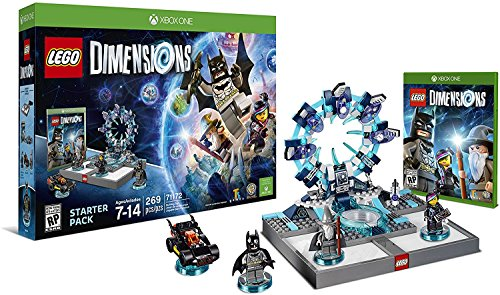 Lego Dimensions Starter Pack + Adventure Time Finn The Human Level Pack + Jake The Dog Team Pack + Marceline The Vampire Queen Fun Pack for Xbox One or Xbox One S Console by WB Lego (Image #1)
