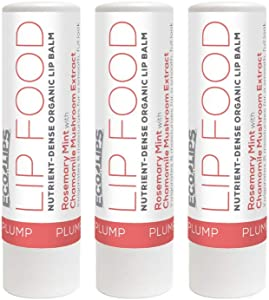 Eco Lips Lip Food - Organic Lip Balm (Plump)