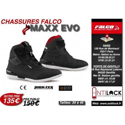 sale retailer 765f0 d7520 CHAUSSURE FALCO MAXX EVO  Amazon.fr  Auto et Moto