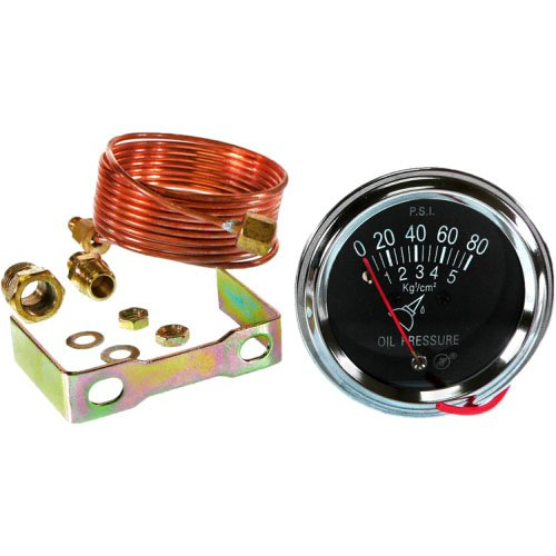 Lighted DB Electrical SSW0002 Oil Pressure Gauge