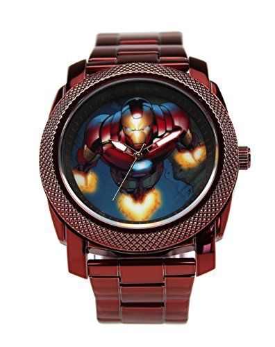 Iron Man Stainless Steel Men's Watch (IRM8002) -