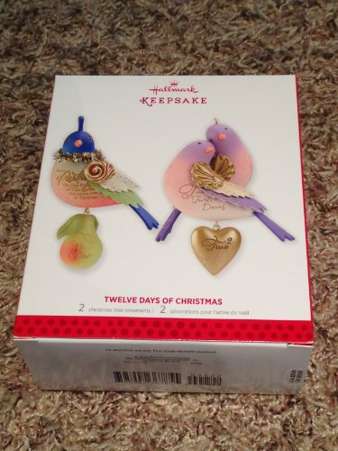 Twelve Days of Christmas - Partirdge in a Pear Tree, and Two Turtle Doves (Hallmark 12 Days Of Christmas Ornament 2011)