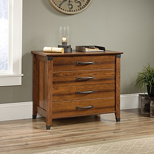 Sauder Carson Forge Lateral File in Washington Cherry by Sauder