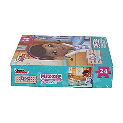 Doc McStuffins 24 Piece Jigsaw Puzzles (Assorted, Designs Vary): Toys & Games