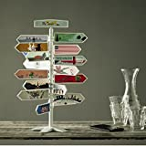 My Travels Tree - starter's set. Travel Decor. Travel Gift. Travel Memorabilia. Travel Souvenir Collection. Wanderlust.