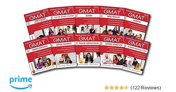 Complete GMAT Strategy Guide Set (Manhattan Prep GMAT