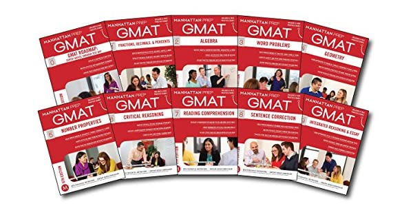 Complete GMAT Strategy Guide Set, 6th Edition - Livros na