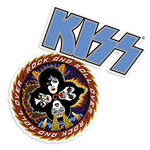 Popfunk KISS Rock and Roll Over Album Collectible Stickers