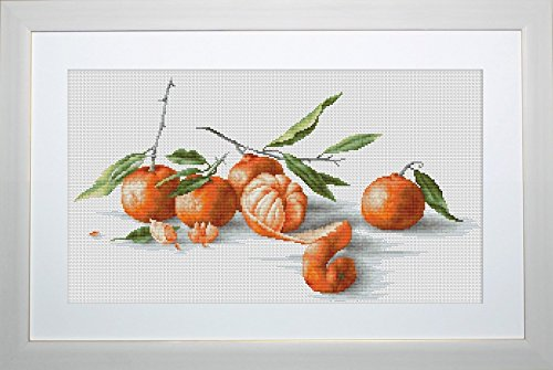 Luca-S Counted Cross Stitch Kit Tangerines