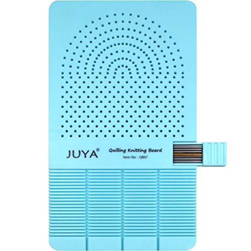 - JUYA Quilling Knitting Board with 2 Functions Have Sticks Storage (Blue)