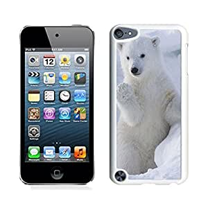 Funny Ipod Touch 5 White Case Cute Polar Bear Cool Ipod 5th Generation Soft TPU Covers