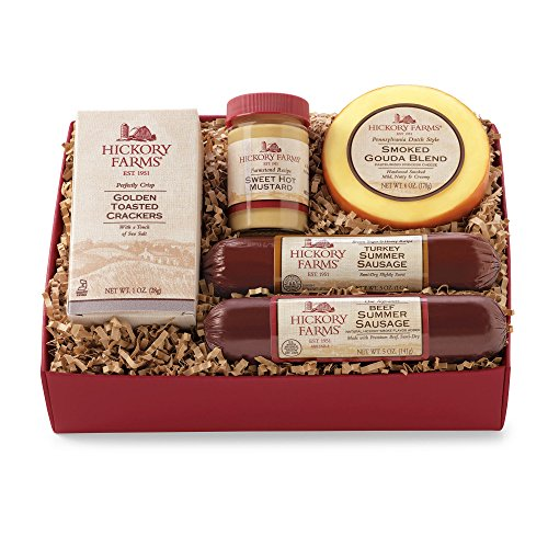 Hickory Farms Beef & Turkey Hickory Sampler. Gift Ideas, Hickory Farms Gift Baskets