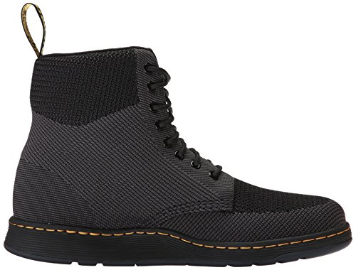 Black Textile Womens martens Dr Anthracite Knit Rigal Boots 8pBnUqwR