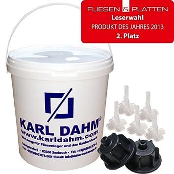 Fliesen Nivelliersystem Von KARL DAHM Das Original Basis Set - Baumarkt fliesen qualität