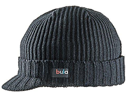 Bula Kids Jumbo Cap Winter Hat (Black)