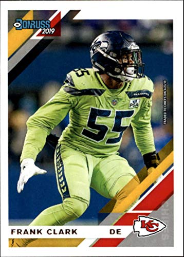 2019 Donruss Football #232 Frank Clark Kansas City Chiefs Official NFL Football Card Made by Panini ()