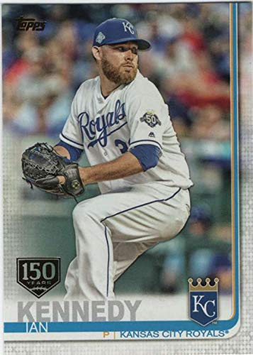 2019 Topps Series 1 Baseball 150th Anniversary Foil Stamp #108 Ian Kennedy -