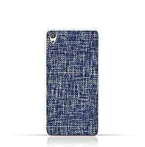 AMC Design Sony Xperia XA1 Plus Compact TPU Silicone Case with Brushed Chambray Pattern