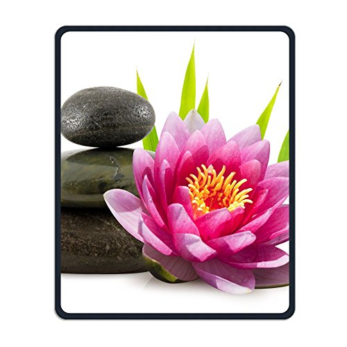Price comparison product image Perfect Gift: Non-Slip Rubber Comfortable Mouse Pads Asian Zen Garden Stone Lotus Bamboo Zen Mouse Mat Personality Desings Gaming Mouse Pad Style 11.8 9.8 Inches