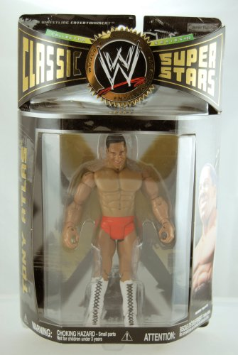 WWE - 2008 - Classic Super Stars - Series 20 - Tony Atlas Action Figure - Limited Edition - Mint - - Superstars Limited Classic Edition