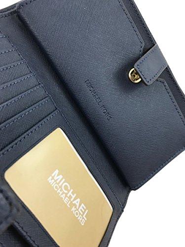 Michael Kors Women's Jet Set Travel Double Zip Wristlet