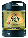 Original belgisches Bier - Leffe Blonde Fass 6 Liter, 6,6% Vol. Belgisches Abday Bier. BBQ und Party!!