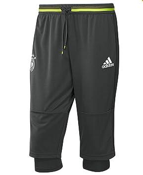 cb6ded5a85569 ADIDAS Men's DFB GERMANY 3/4 Training Pant (Black/Silver) (3XL ...