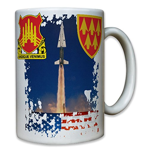 71st Ada 32nd Aadcom Us Army Herald Arms Hercules America Air Defense Command Artillery - Coffee Cup Mug